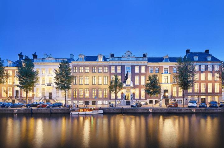 voooraanzicht Waldorf Astoria Amsterdam