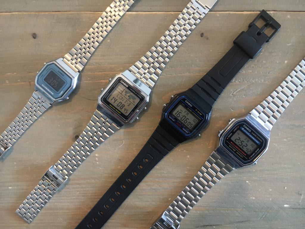 het beste casio retro horloge
