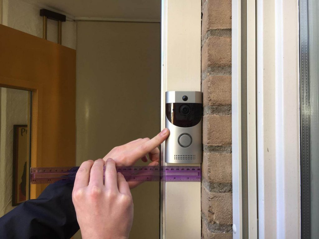 onderzoek naar afmetingen van slimme deurbel