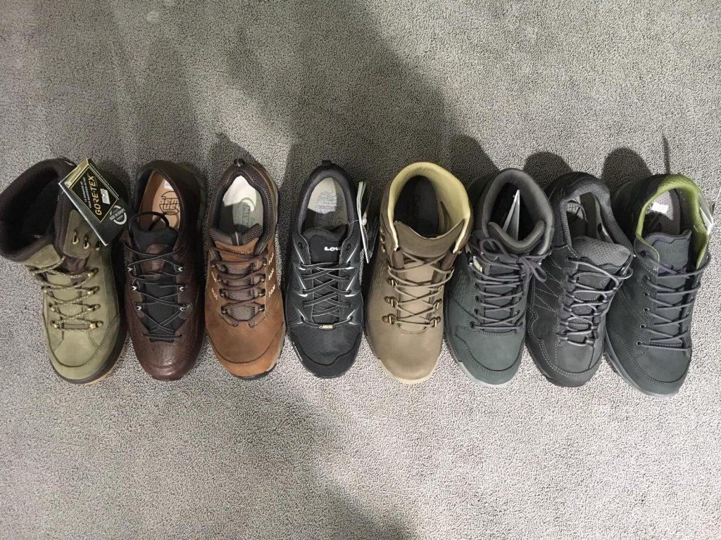 selectie van de beste wandelschoenen