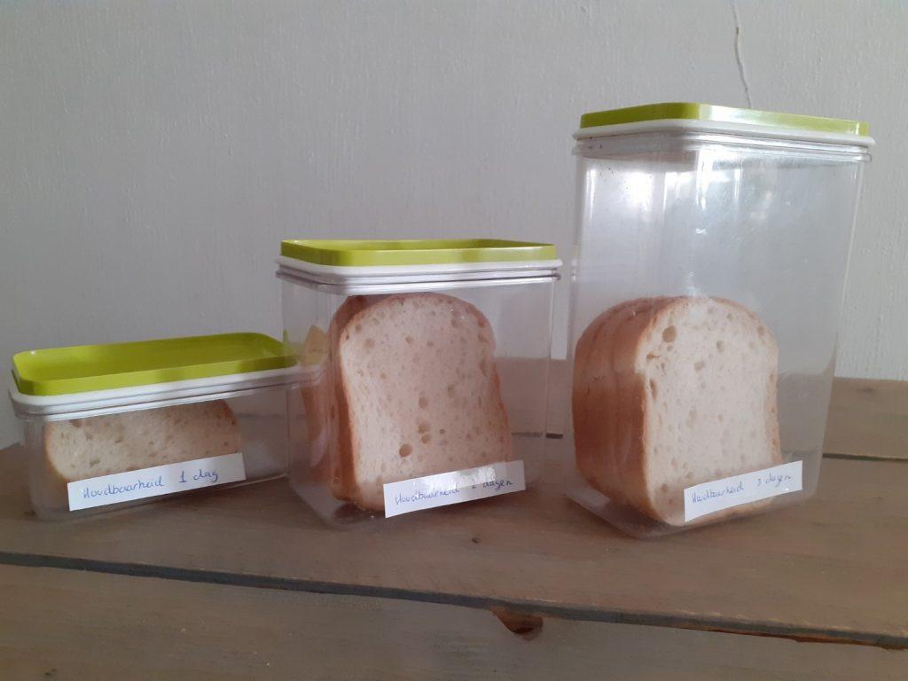 houdbaarheidstest glutenvrije brood