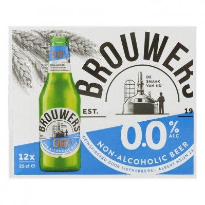 brouwers 0.0 alcoholvrij bier