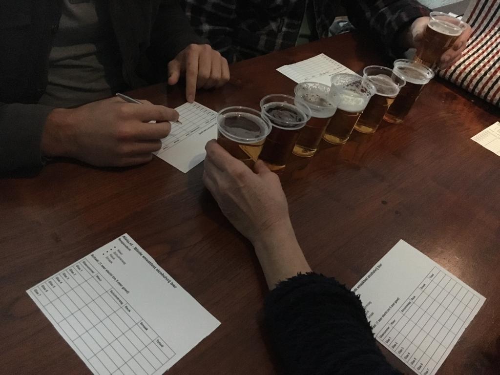 de blinde smaaktest bieren