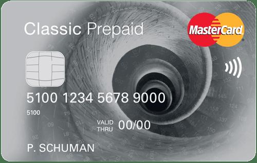visa classic prepaid mastercard