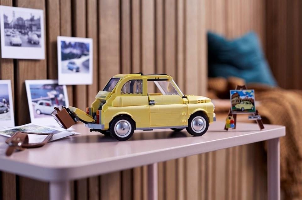 lego auto voor thuis