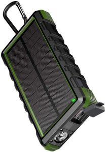 waterdichte outdoor solar powerbank
