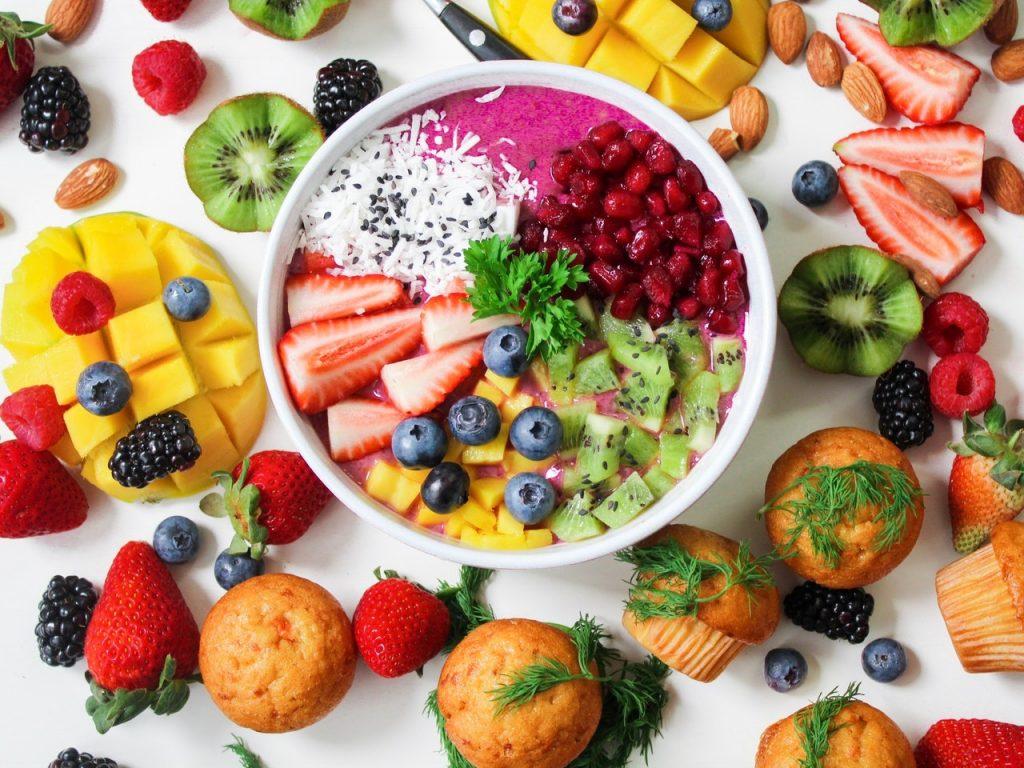 Fruit voor in de Smoothie Blender