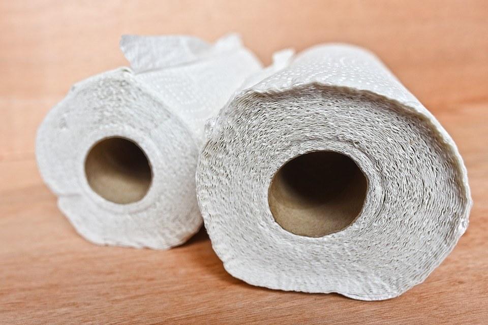 keukenpapier voor kaasfonduepan schoonmaken